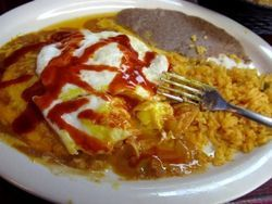 No. 1: Cheese enchiladas at Los Dos Amigos