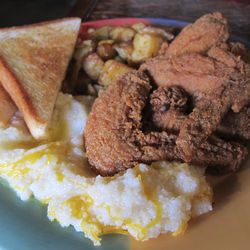 No. 43: Wings and grits at the breakfast klub