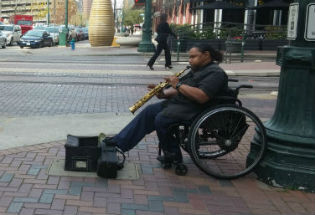 There's Music in the Streets Downtown