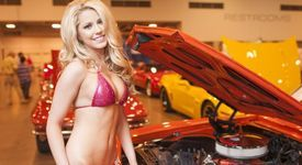 The Swimsuit USA Model Search Meets the Corvette/Chevy Expo