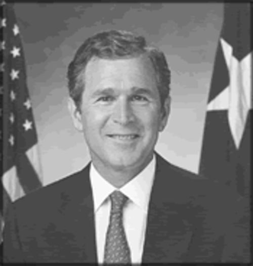 "George ""Dubya"" Bush."