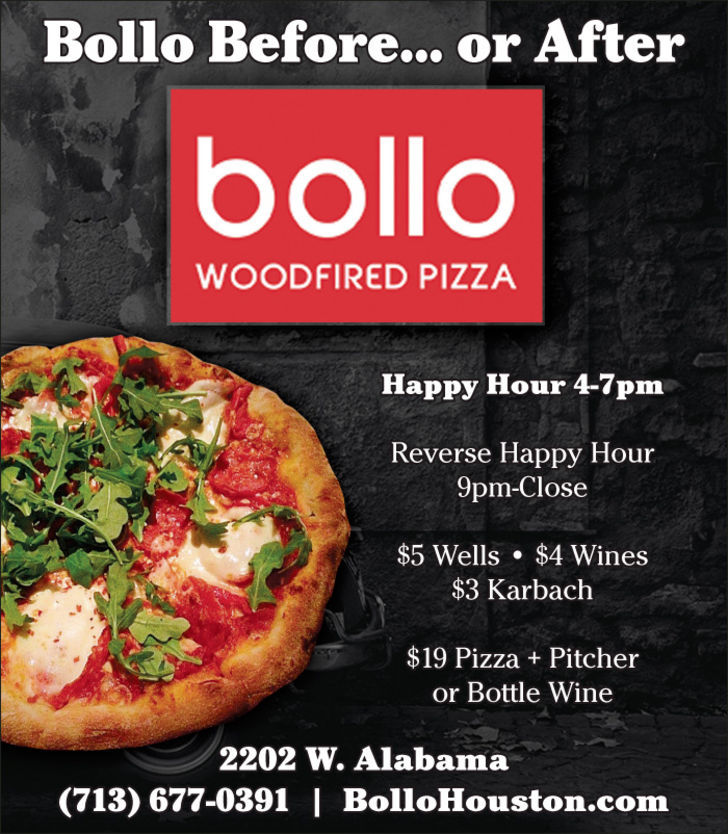 Bollo Wiood-Fired Pizza