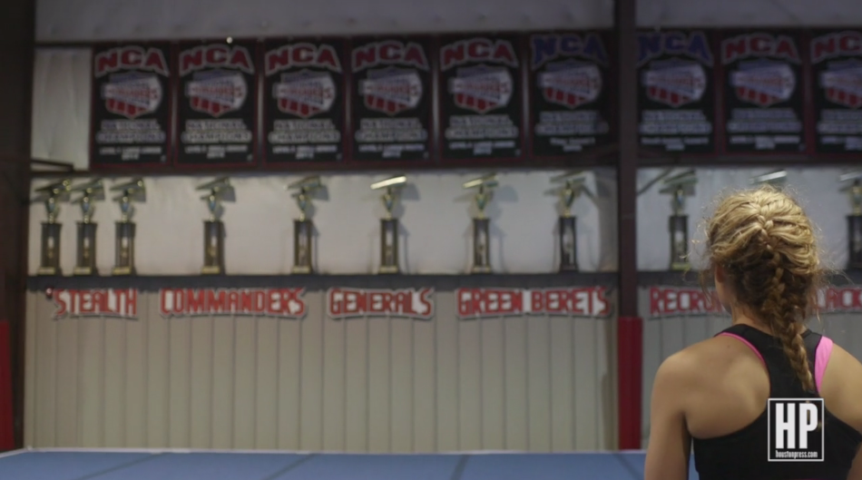 Behind the Scenes With Competitive Cheerleading's World Champs
