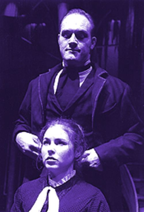 Douglas and Christian excel as the play's only two actors.