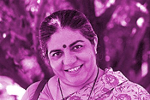 "Vandana Shiva: ""This is a particularly blatant case. It's about rice. It's about a staple."""