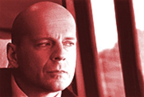 Bruce Willis plays the world's saddest superhero in Unbreakable.