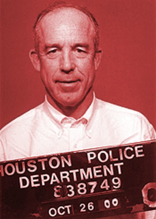 Steven Hotze's HPD portrait, taken after festivities at the Rainbow Lodge.