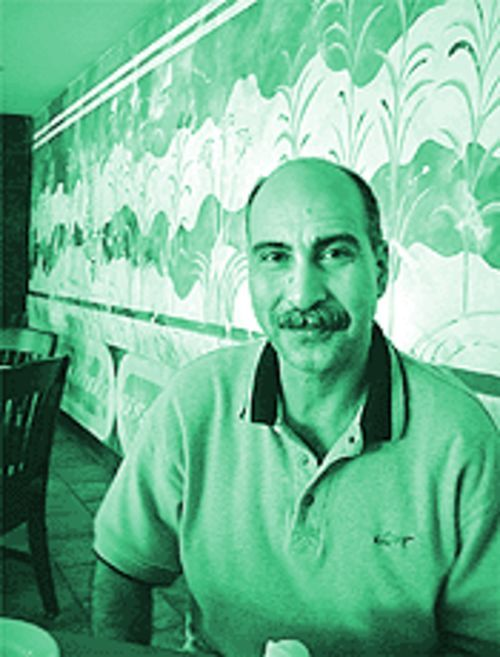 Frixos Hrisinis, owner and manager of Mykonos Island Restaurant [2181 Richmond Avenue, (713)523-4114]