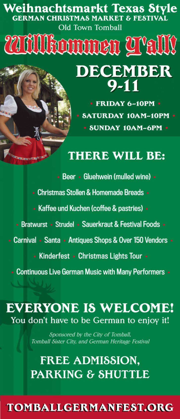 Tomball German Christmas Market Festival