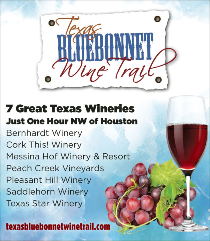 Texas Bluebonnet Wine Trail