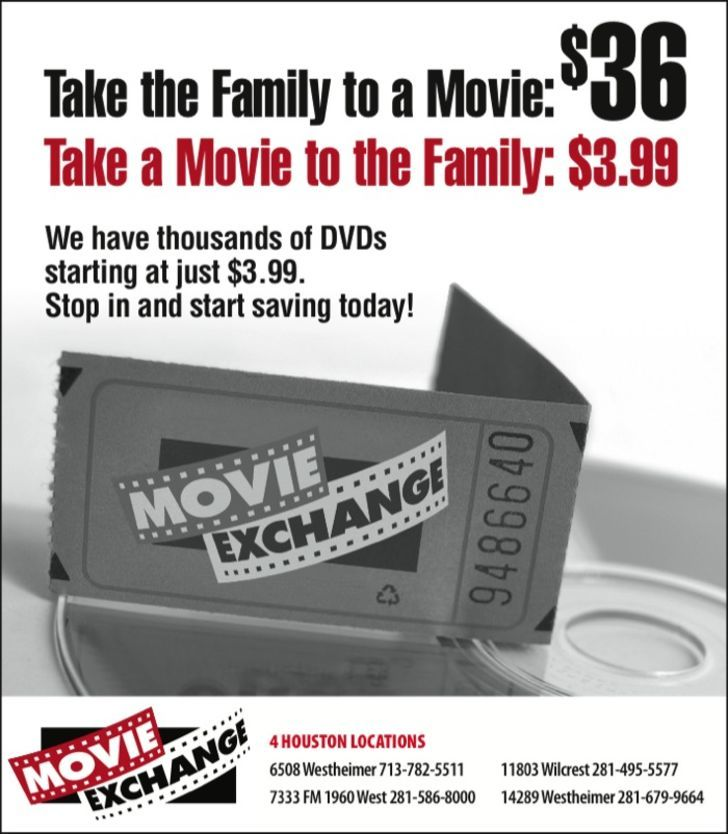 DVD Exchange LLC, Dba Movie Exchange
