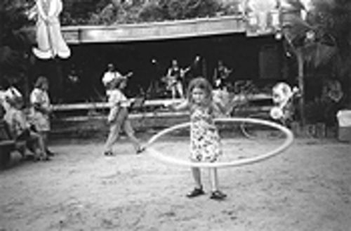 Bayousphere Serious hoops: This little girl, who declined to reveal her identity, was one of several hula hoopers at the annual Watermelon Festival and Summer Social at Last Concert Cafe.