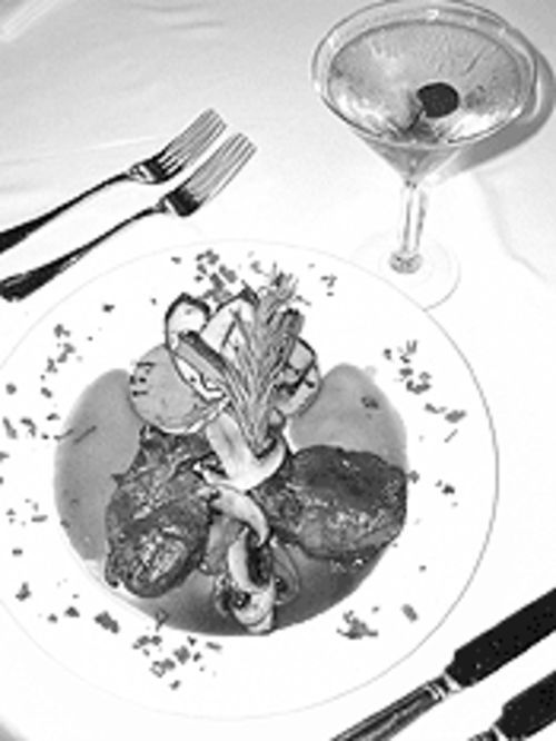 "The ""Red deer"" venison chops, the only surviving game dish on Vallone's menu, are outstanding."