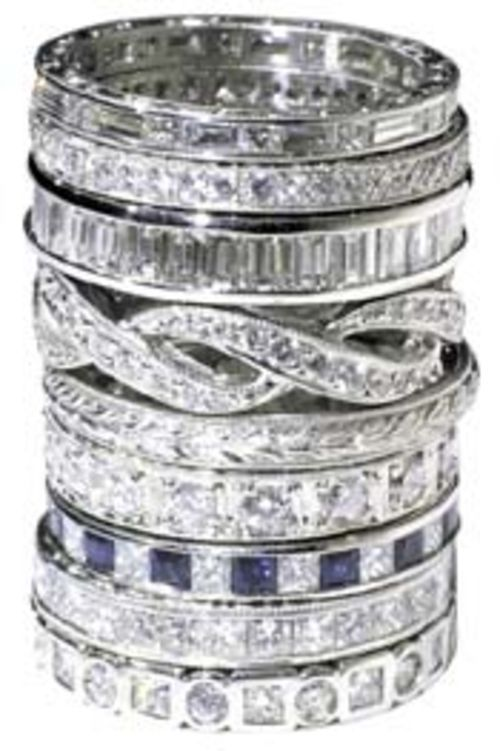 Renaissance Platinum is available in Houston at jeweler Louis Tenenbaum.