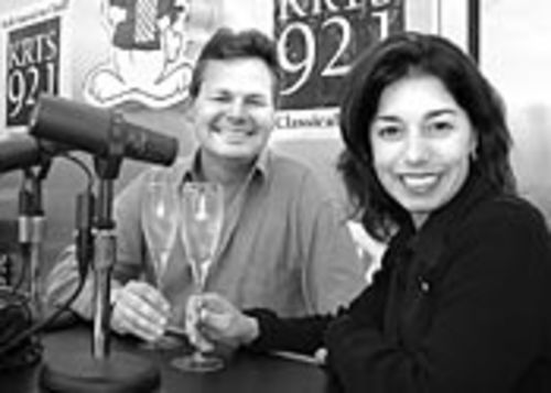 John DeMers and Rhonda Findley make Delicious Mischief together as hosts on KRTS and as experts on our wine panel.