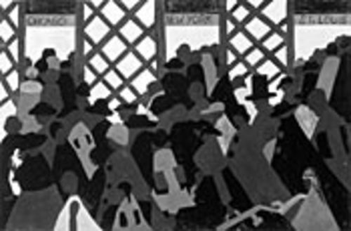 The Migration of the Negro, No. 1: Lawrence's illustrated history can be appreciated as individual works of art.
