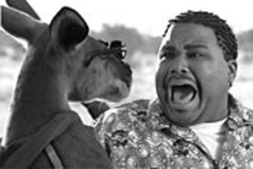 As low as high-concept goes: Anthony Anderson and the title marsupial in Kangaroo Jack.