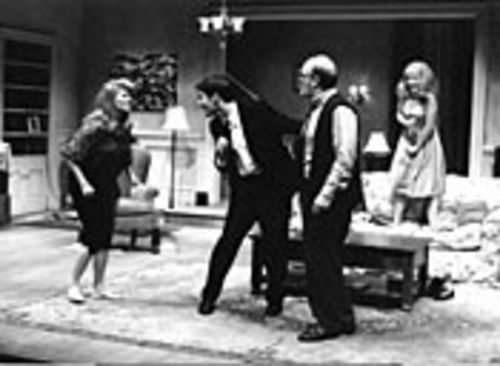 Judith Ivey, Ty Mayberry, James Black and Elizabeth Bunch (left to right) constitute the flawless cast of Virginia Woolf.