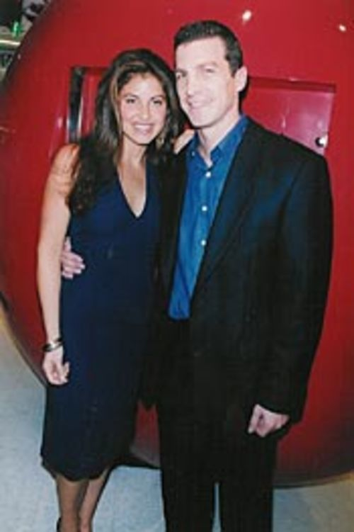 Candy co-owners Dylan Lauren and Jeff Rubin