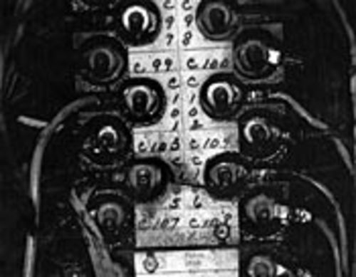 Two wires were connected to controller stud C-105.  One should have been connected to C-103.