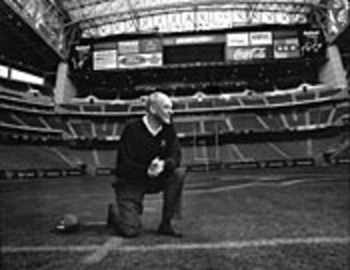 "Corporate porn: Texans owner Bob McNair having a ""spiritual"" moment."