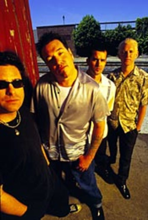 Don't hate them because they appeal to juveniles: Smash Mouth is the best bubblegum going.