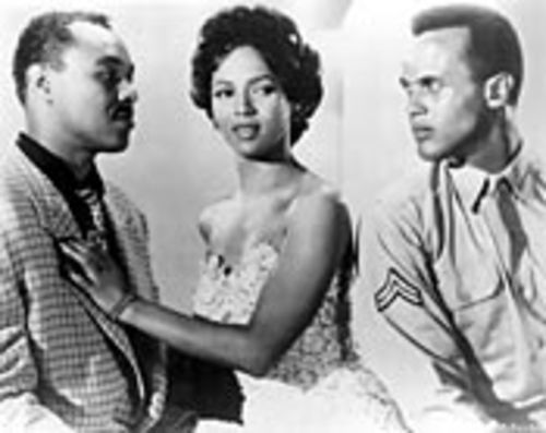 Joe Adams, Dorothy Dandridge, Harry Belafonte