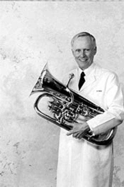 Grady L. Hallman: M.D. and euphonium player.