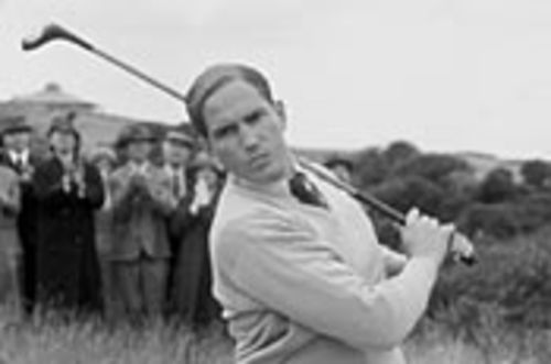 Jim Caviezel takes a swing at Bobby Jones: Stroke of Genius.