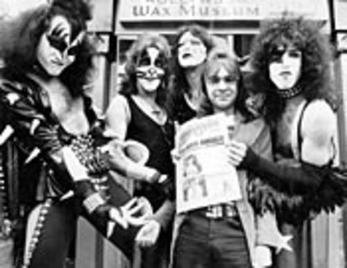 Much more than Behind the Music: Rodney Bingenheimer with KISS.