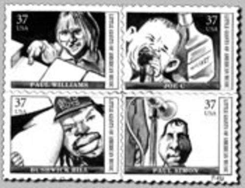 Commemorative Music Stamps in Hell, Part 1
