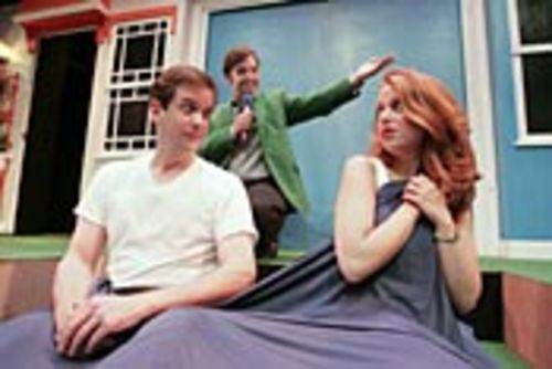 Tom Prior, Jeffrey Gimble and Kara Greenberg in I 