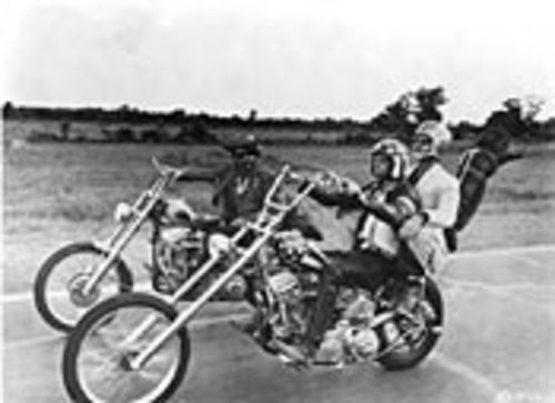Choppers and Hopper: Easy Rider.