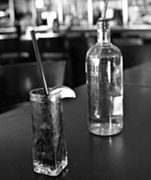 The Warwick Hotel's Absolut and Coke