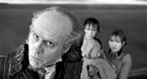 Jim Carrey is magnificent as Count Olaf, the  demented villain who covets the Baudelaire kids'  fortune.