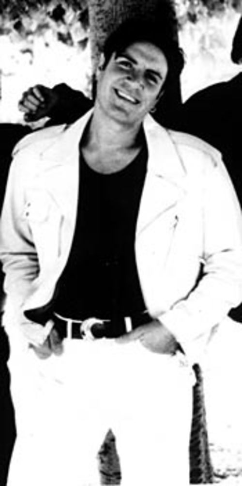 To predict the future, we must look at the past:  Witness Simon Le Bon, mid-'80s superstar, rocking  the white suit.