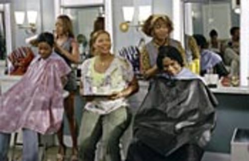 Beauty flop: Golden Brooks (back left), Queen  Latifah (center) and Alfre Woodard (back right) star in  the same ol' story.