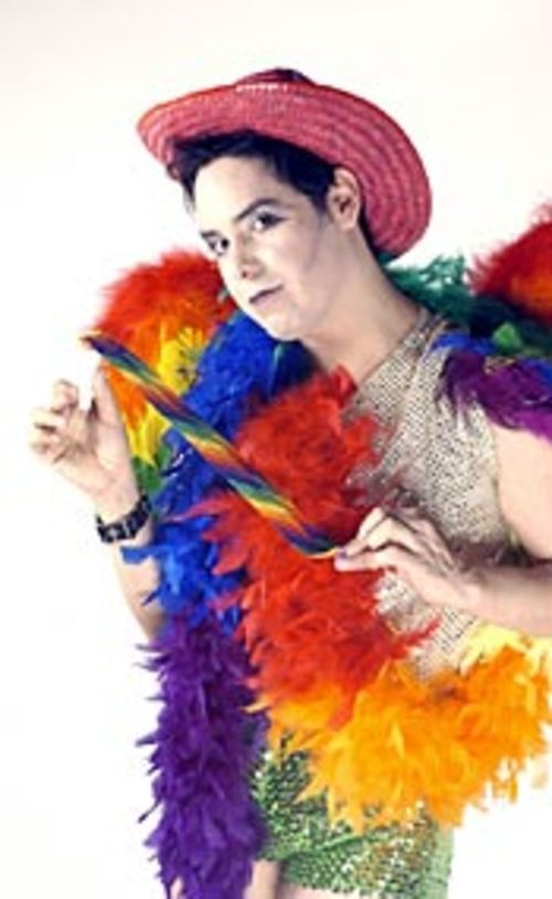 Actor, singer and all-around diva Jade Esteban  Estrada is full of Pride.