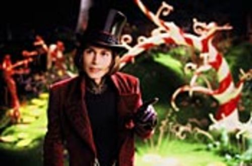 Johnny Depp's Willy Wonka is exponentially more  bizarre that Gene Wilder's.