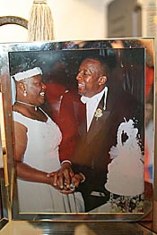 Bema and Celester's future was brighter when they  married.