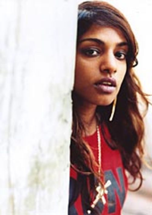 Who needs a proper singing voice when you're M.I.A.?