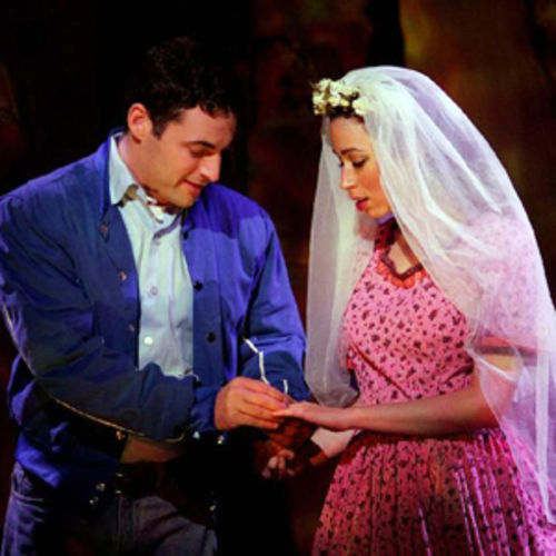 Max von Essen (Tony) and Stephanie Iannarino (Maria) are easy to like, but far from edgy in TUTS's West Side Story.