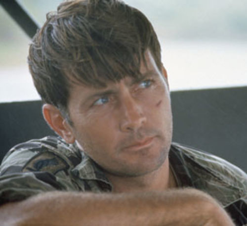 Martin Sheen as Captain Willard: It coulda been Steve McQueen.