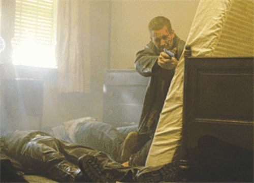 Paul Walker, a vacant piece of chick bait, plays a low-level mobster.