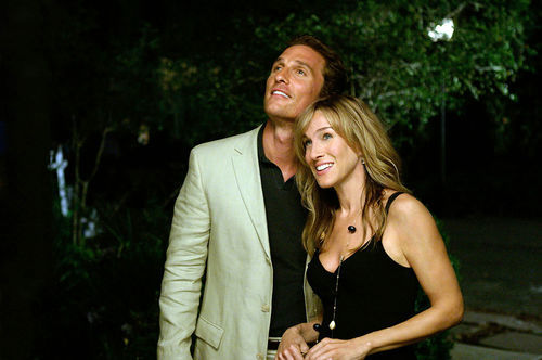 Matthew McConaughey (with Sarah Jessica Parker) at long last has chosen the perfect vehicle to highlight his slacker radiance.