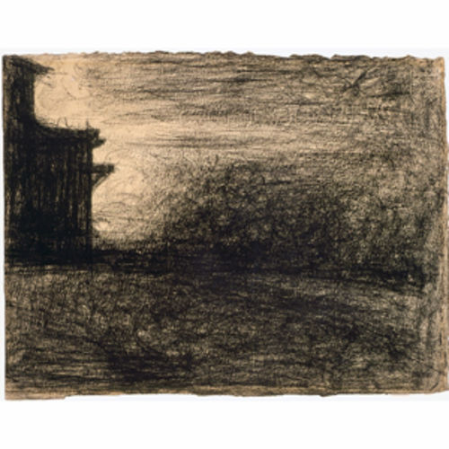 Seurat's Coin d'Usine is a wonderful little drawing.