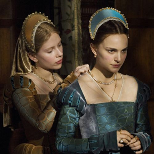 As Mary and Anne Boleyn, Scarlett Johansson and Natalie Portman practically tremble with inner life.