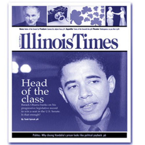During his seven-year tenure in the Illinois Legislature, Obama wrote an occasional column for the Lakefront Outlook community newspaper where I worked. In 2004, during his U.S. Senate bid, I profiled Obama for the Illinois Times.