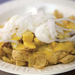 The Frito pie has earned its place on both lists.