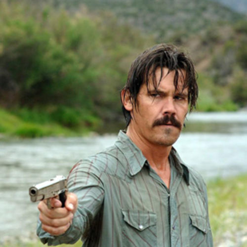 Josh Brolin in No Country, where even the good guys are bad